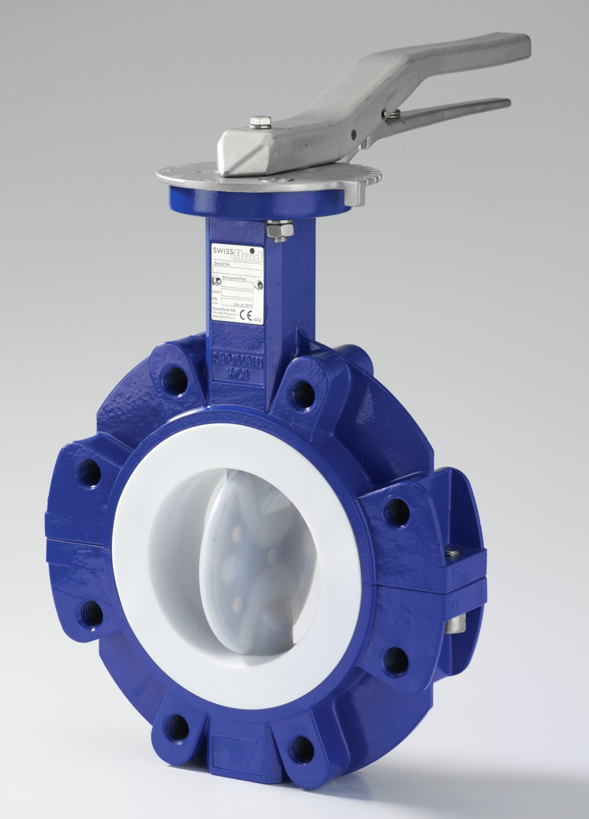 Selection of butterfly valves 56